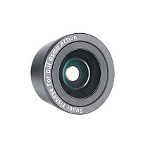 FEICHAO 35mm 180 Degree Fisheye/15X Macro Lens Glass Fish Eye Lens for OSMO Action Camera Lens Filter Accessories