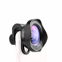 XT-XINTE Lens Phone Case With 12mm/16mm Wide-angle 65mm/105mm Telephoto Portrait 40-75MM Super Macro HD 238°Fisheye HD 10X Macro Camera Lens For iPhone12 mini