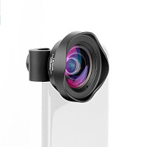 XT-XINTE Lens Phone Case With 12mm/16mm Wide-angle 65mm/105mm Telephoto Portrait 40-75MM Super Macro HD 238°Fisheye HD 10X Macro Camera Lens For iPhone12 Pro Max
