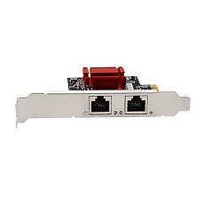 DIEWU TXA094 82575&6 Chip PCI-eX1 PCIE 2.0 Dual-Port Gigabit Server RJ45 Network Card 10/100/1000Mbps for Desktop Server