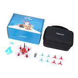 iFlight Alpha A65 65mm Tiny Whoop Drone-Christmas Version with SucceX F4 1S 5A AIO Whoop Board/XING w/VTX/199C 0802 22000KV motor for FPV