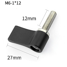 FEICHAO Photography Screws Adjustable Position Lockable Screw M6*12 for Insta360 ONE R/GOPRO9/8/MAX GOPRO series/DJI Osmo Action