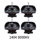 iFlight 4PCS XING 1404 Motor 3000KV 3800KV 4600KV 2-4S Toothpick Ultralight Build X1404 Black Rotor for  FPV BWhoop Drone Part