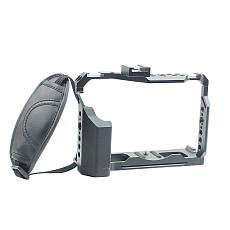 FEICHAO BTL-FT4 XT4 Rabbit Cage Camera Protection Frame Tripod Expansion Platform with Wrist Strap for Fuji XT4 Camera