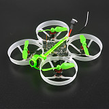 Happymodel Moblite7 1S 75mm ultra light brushless whoop EX0802 brushless motors VTX power switchable 25mw~200mw lightest 1s AIO 5IN1 F4 flight controller