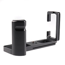 BGNing Aluminum Camera Cage for Fujifilm XT4 SLR Protective Holder Hand Grip Mount Bracket for Fuji X-T4 L Quick Release Plate