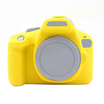 BGNing Soft Silicone Protective Case for Canon 3000D 4000D SLR Camera Cover Non-slip DSLR Protector Photography Accessories