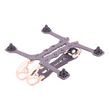 FEICHAO Merry135 3inch 75MM Propeller Toothpick Frame Kit RC Drone FPV Racing Quadcopter Freestyle support CADDX VISTA