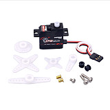 SURPASS Hobby S0017P 17g Plastic Gear 1.8KG Digital Servo for RC Fixed-Wing Airplane Robot Car Boat Duct Plane