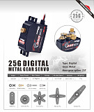 SURPASS HOBBY S0300P Servo 3KG Plastic Gear Digital Servo for 1/12 RC Car Aircraft RC Boat Robot RC Drone