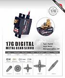 SURPASS Hobby Digital Servo S0017M 17g Metal Gear Servo for RC 1/18 Helicoper Airplane Truck Car Boat Robot