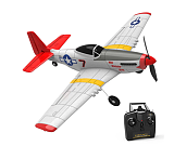 Eachine Mini P-51D EPP 400mm Wingspan 2.4G 6-Axis Electric RC Airplane Trainer 14mins Fight Time Fixed Wing RTF for Beginner(in stock)