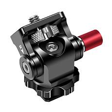 BGNing 360 Degree Rotatable Mini Tripod Ball head Hot Shoe Adapter 1/4  Screw Mount for SLR Camera LED Flash Monitor Accessories