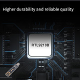 XT-XINTE USB 3.1 for NVME SATA Dual Protocol M.2 Key-B-M Adapter 10Gbps USB3.1 Gen 2 Converter Card for NVME 2230-2280 SSD