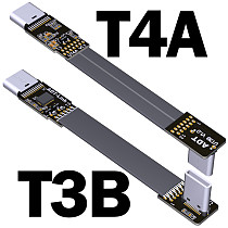 ADT-Link FPV USB 3.1 Type-C USB-C 90 Degree Adapter 15cm FPC Ribbon Flat Type-C USB-C Cable for Multicopter Aerial Photography