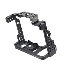BGNing Aluminum Camera Form-fitting Cage for Sony A7S3 Rig Quick Release L Plate Bracket for Alpha A7SIII 7S III DSLR Accessory