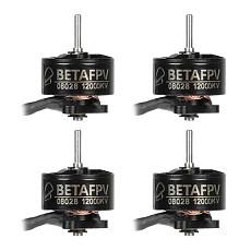 BETAFPV 4PCS 08028 12000KV Brushless Motor for Beta75 Pro 2 Frame for 40mm 4-blades Props 1.0mm Shaft Hole
