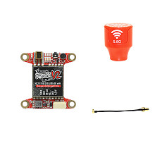 PandaRC VT5804M V2 0-600mW Switchable 48CH/37CH FPV Transmitter VTX RC Transmitter Receiver Board with Antenna For RC FPV Racing Drone