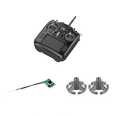 RadioKing TX18S/ Lite Hall Sensor Gimbals 2.4G 16CH Multi-protocol RF System OpenTX Transmitter with D16 Receiver + Rocker Mount