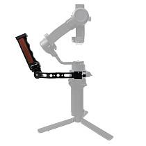 BGNING Adjustable Handgrip Mount for DJI RS2/RSC2 Handheld Gimbal Camera Stabilizer Extension Handle Angle Adjustable Accessories