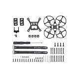 iFlight Alpha C85 Pusher FPV Drone Whoop DIY Build Frame kit w/Naked GoPro Hero 8 Case TPU with BEC Board Insta360 Case TPU