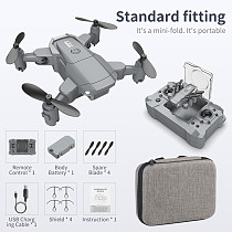 FEICHAO KY905 Mini WiFi FPV with 4K/1080P HD Camera Hold Mode Foldable One-Key Return 2.4G RC Drone Quadcopter Kid's Toys RTF