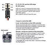 Elechawk 4/8 LED Super Lights 4V-5.4V w/Controller Board for RC DIY FPV Racing Quadcopter Multi Axis Drone Aircraft