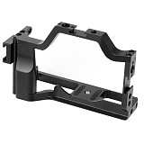 FEICHAO BTL-JN50 CNC Aluminum Alloy Canon Camera M50 Rabbit Cage Expansion Protection Frame Tripod Expansion Platform Handheld Camera Accessories Quick Release Plate Cold Shoe Holder Fill Light Lamp Holder for Canon M50/M5 Cameras