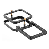 FEICHAO BJB-GMAX CNC Aluminum Alloy Conversion Plate for GoPro Max Aluminum Alloy Gimbal Splint  for DJI Cloud Gimbal Magic Claw and other Stabilizers