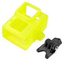 FEICHAO 40 Degree Adjustable Camera Holder Protection Cover for BumbleBee/Green Hornet FPV Racing Drone for Gopro Hero 9 Camera
