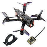 JMT J135mm 3inch 135mm Frame DIY Drone Kit F405 DM Mini Flight Controller 1306 3100KV Motor 3052 Props 1200TVL FPV Camera