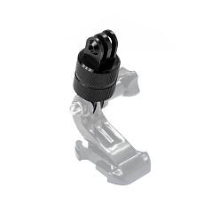 OEM Universal Go Pro 360 Degree Swivel Rotating Aluminium Tripod Mount Adapter Head Pivot Arm Connector for Gopro Hero 4