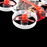 Happymodel New Moblite6 1S Frsky + LiteRadio OpenTX 2.4G 8CH Radio Transmitter 65mm Ultra Light Brushless Whoop 18.5g  VTX Power Switchable 25mw~200mw  Lightest 1s AIO 5IN1 F4 Flight Controller