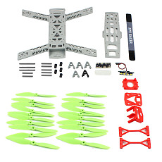 KINGKONG 260 Plastic Integrated Rack with Taillights Four-axis Rack 250 FPV Racing Drone Frame