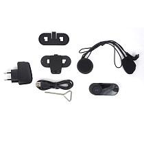 V2-1000A 1000m Helmet Bluetooth Walkie Talkie Full Duplex Intercom Helmet Radio Bluetooth Walkie Talkies