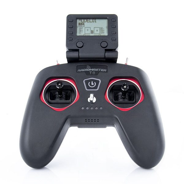RadioMaster T8/T8 Pro 2.4GHz 8/16CH Multi-protocol RF System Transmitter Hall Sensor Gimbals OpenTX Compatible D8/D16  for RC Drone