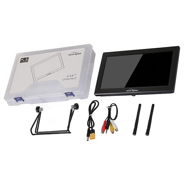 Hawkeye Little Pilot Captain High Bright Screen Dual Receiver DVR 10.2inch 1000lux 5.8GHz Display 3S-6S For FPV RC Racing Drone
