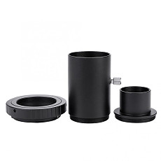 BGNing 1.25 Inch Extension Tube Adapter for Astronomy Telescope M42 Thread T-Mount + T2 Ring Adapter for Canon for Nikon Cameras