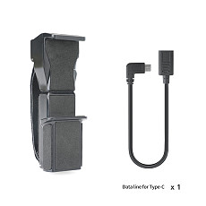 BGNing Handheld Protective Stand for DJI OSMO POCKET 2 w/ Connect Data Cable Type-C to Type-C /Micro-USB for Mobile Phone Clamp Holder
