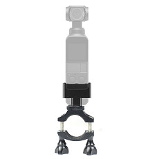 BGNing Bike Clip for 20~30mm Bike/Motorcycle Handlebars, Seat Post Ski Pole Mount with 1/4 Screws Compatible for DJI OSMO Pocket for Video Recording