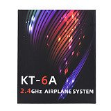 Hotrc KT-6A RC Transmitter 2.4G 6CH RC Transmitter FHSS & 6CH Receiver For Rc Airplane DIY KT Board Machine FPV Drone