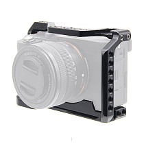 BGNING Camera Metal Rabbit Cage SLR Camera Protection Frame for Sony A7C SLR Camera