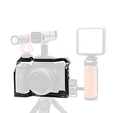 BGNING Camera Metal Rabbit Cage SLR Camera Protection Frame for Fuji X-S10 SLR Camera