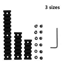 BGNING 3PC/Set 3 Sizes 20mm Rail Strip Guide Strip Set for Rail Bracket