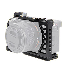 BGNING Camera Metal Rabbit Cage SLR Camera Protection Frame for Sony A7C