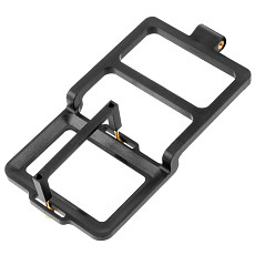 FEICHAO  Plastic Handheld Gimbal Adapter for OSMO Action Cameras Switch Mount Vertical Plate Counterweights for Gopro Hero 9 Black