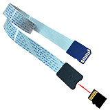 XT-XINTE 48CM SD Card Female to TF Micro SD Male ( SD to SD,SD to TF,TF to TF )Flexible Card Extension Cable Extender Adapter