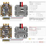 Matek F722-SE F7 Dual Gryo Flight Controller AIO ACC OSD BEC Current Sensor Black For RC FPV Racing Drone Part DIY Accs