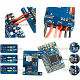 Matek New Mateksys Flight Controller F765-WING F765 Wing for RC FPV Racing Drone Fixed Wings Support PIX INAV Dual Camera Cam I2C PM