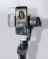 Baseus New Bluetooth Selfie Stick 3-Axis Handheld Gimbal Stabilizer Bracket Outdoor Travel Holder